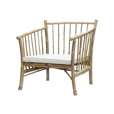 TineK home bamboe stoel BAMNEWCOUCH-NA | Banken en stoelen | House-Dressing.nl