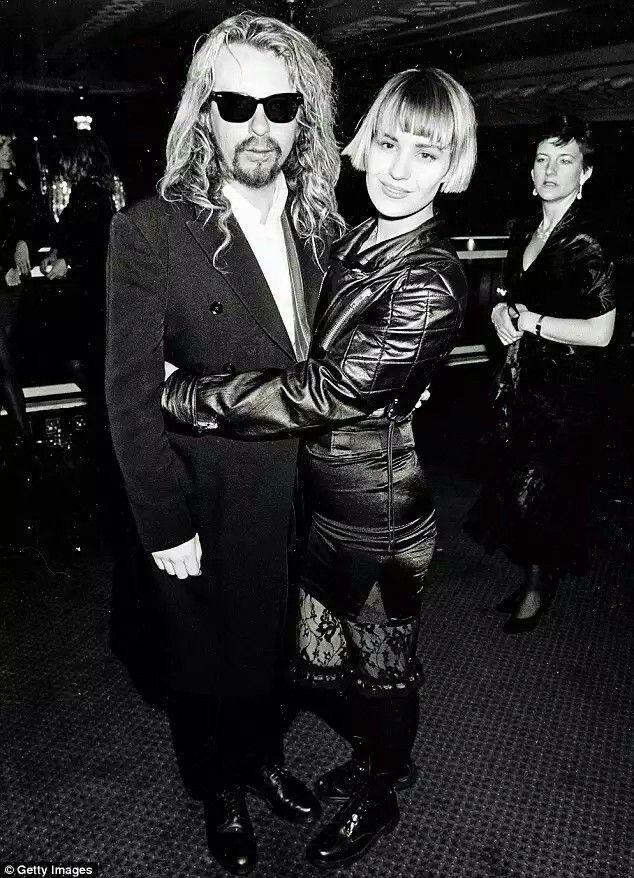 Dave A. Stewart (Eurythmics) with Siobhan Fahey (Bananarama) ex wife of Dave !.
