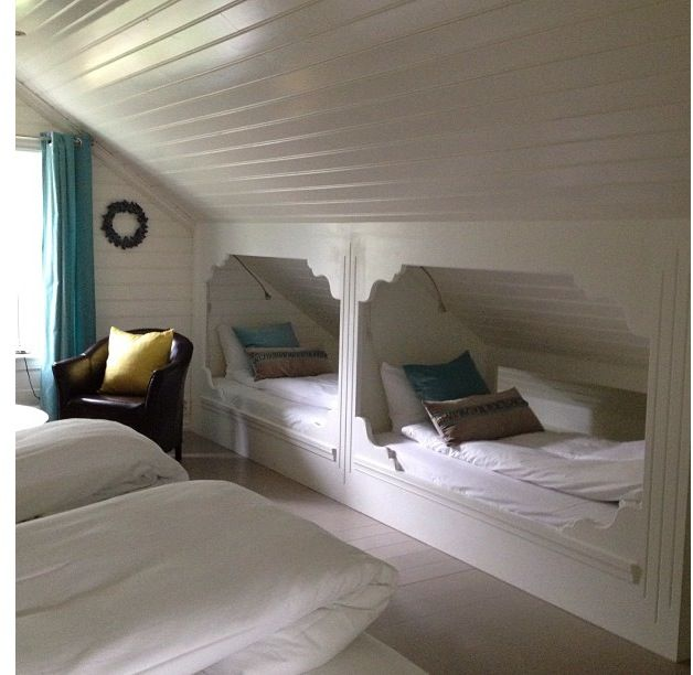 Hidden Bunkbeds... don't take up much room!