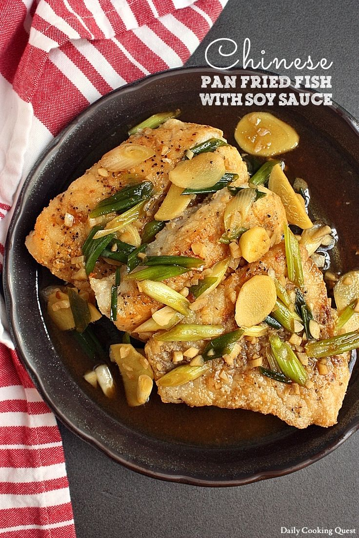 Pan fried fish with soy sauce is one of the most classic Chinese recipe to enjoy white fish. You can use any kind of firm white fish, such as red snapper, rock fish, or grouper. Restaurants love to either serve their fish whole or thinly sliced, but I think it is easiest to use a …