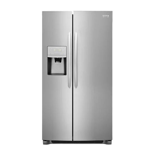 Frigidaire - Gallery 22.2 Cu. Ft. Side-by-Side Refrigerator - Stainless steel (Silver)