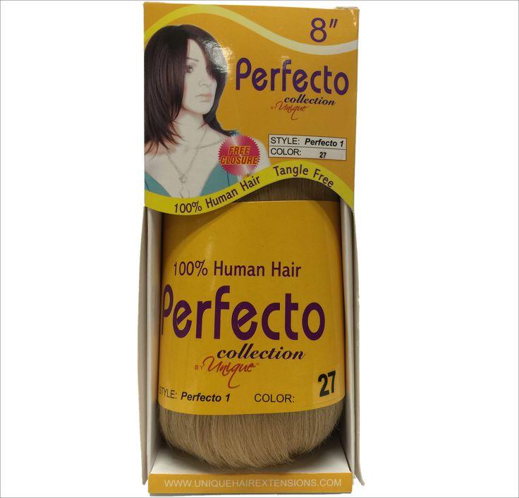 """Unique's Perfecto 1 Bump Hair 8"""" / 100% Human Hair"""