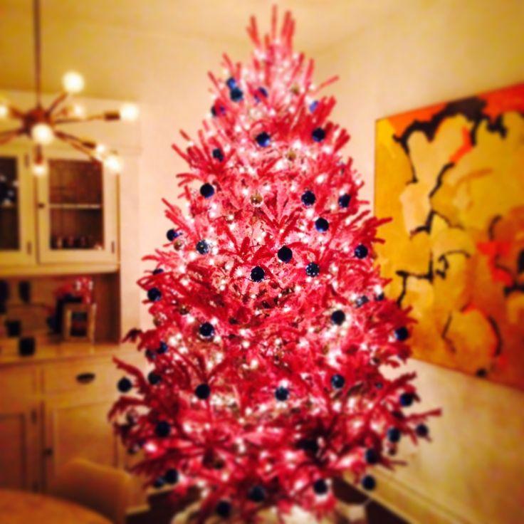 hot pink xmas tree - Hot Pink Christmas Tree