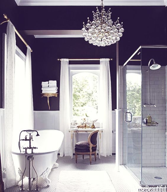 Like purple? Then you are going to love these ideas. From purple toilet paper to a stunning purple crystal rock sink. No matter what, there is something for you in here!