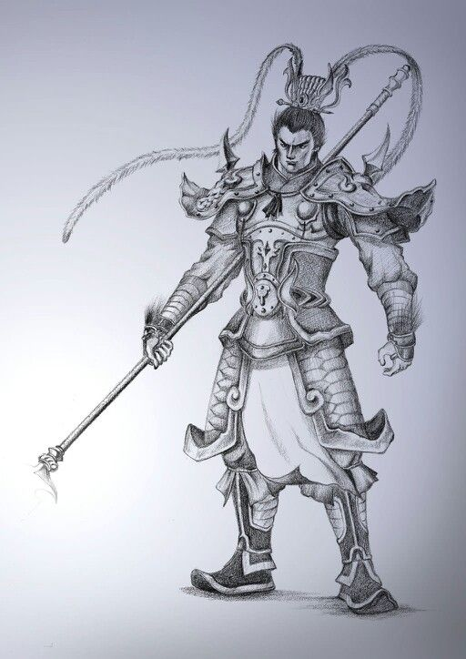 chinese warrior tattoo design chinese warriors