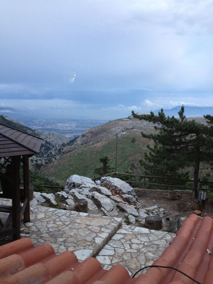 VISIT GREECE| View from #Bafi shelter (Mt. #Parnitha) #Athens #Attica