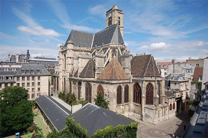 St Gervais - Marais Apartment View