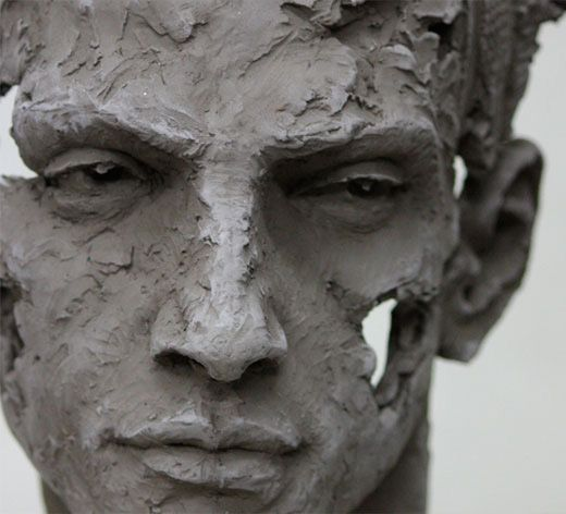 Sculptural detail - Christophe Charbonnel, sculptor                                                                                                                                                      More