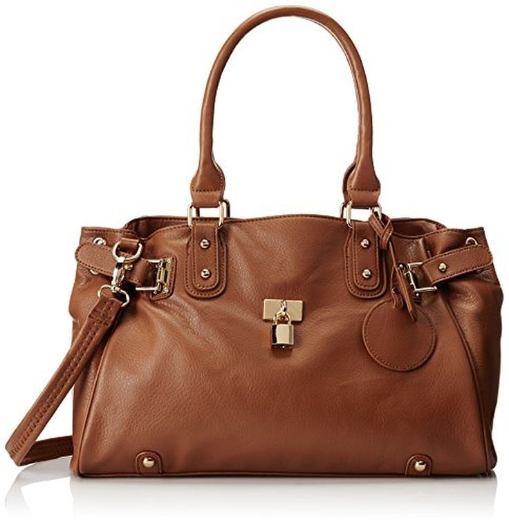 MG Collection Lucca Designer Inspired Glamour Shopper Tote Handbag