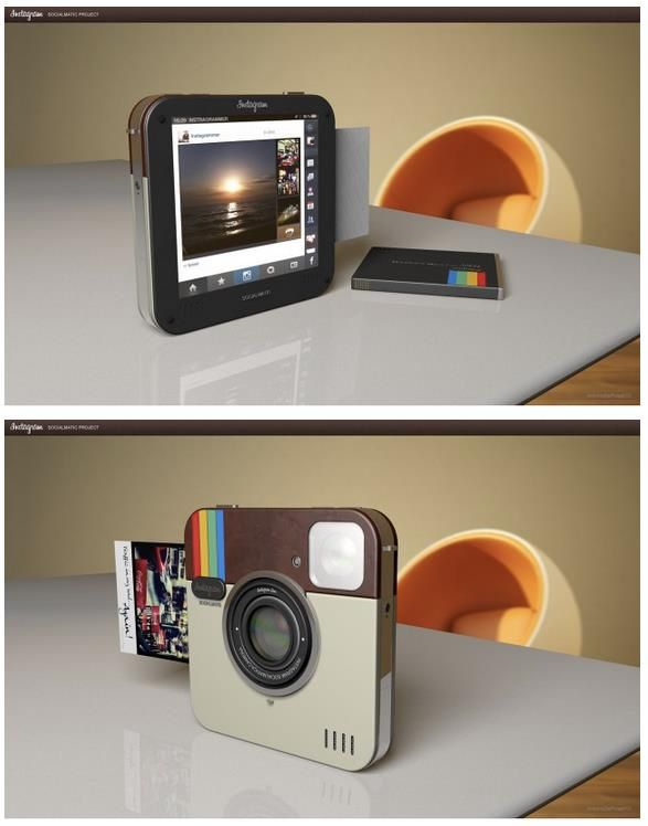Instagram camera printer