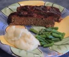 Recipe Healthy Meatloaf by Lisa Marker - Recipe of category Main dishes - meat