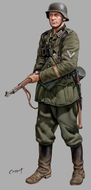 German early uniform.