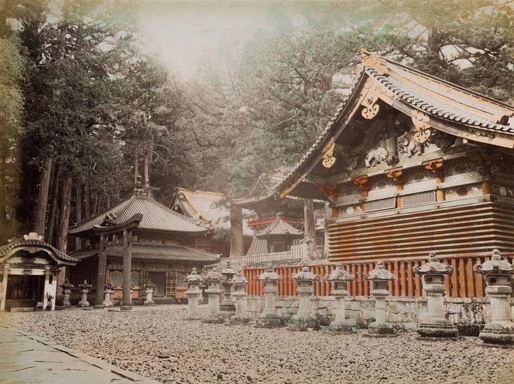 A nikkói Toshogu-szentély 1870-be