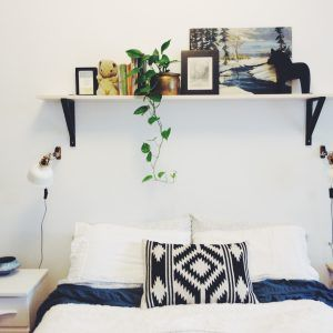 Over The Bed Shelving Ideas