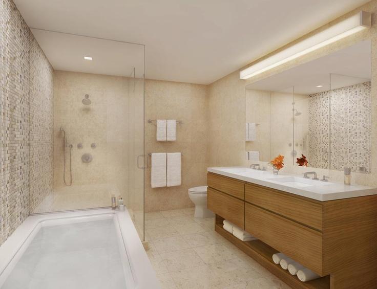 Interiors Residential Tower modern bathroom