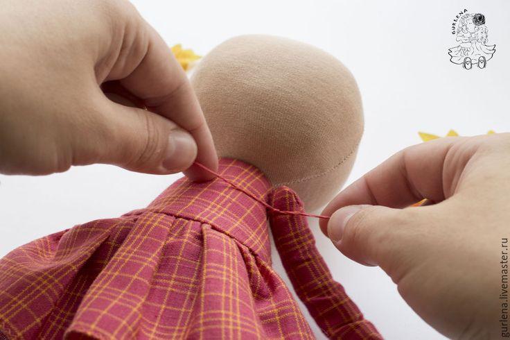 Текстильная кукла от макушки до пяточек - Ярмарка Мастеров - ручная работа…