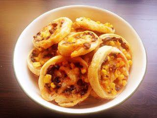 Krásné recepty od Aničky: Mini pizzy z listového těsta