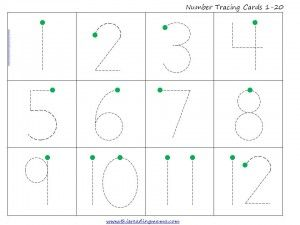 FREE Count and Trace the Numbers {1-20} Activity   This Reading Mama