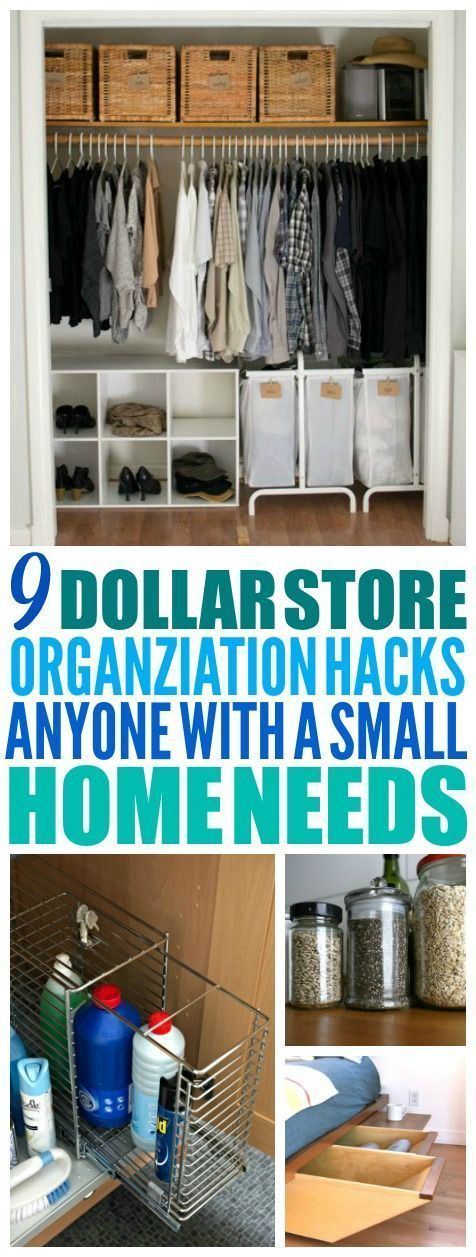 9 Genius Ways to Organize Every Space in Your House with the Dollar Store
