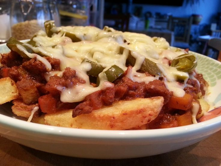 Slimming World Delights: Chilli Cheese Fries