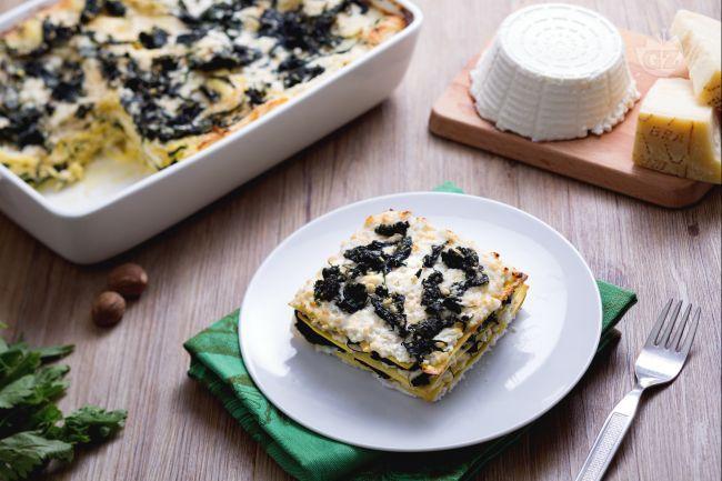 Ricetta Lasagne con ricotta e ortiche - Le Ricette di GialloZafferano.it