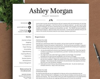professional resume template for word pages by thetemplatestudio professional resume ideas - It Professional Resume Samples