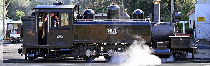 14A Victorian Railways NA Class Steam Locomotive