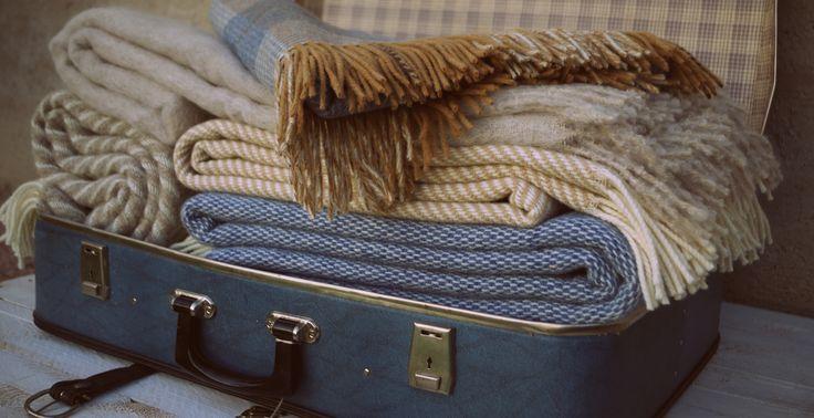 kvalitné vlnené deky a prehozy