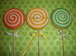 Make lollipop Cookies!