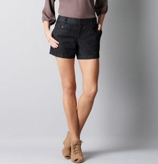 Denim Shorts in Rinse Wash