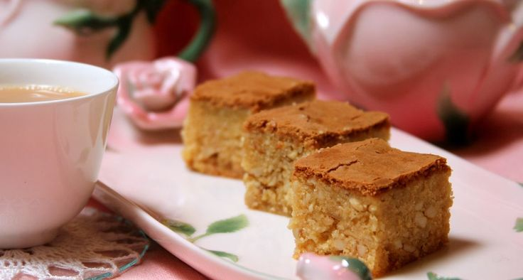 Sri Lankan Love Cake ~ Buttery rich, moist and squidgy, an exotic cake with lemon and honey with nutmeg, cinnamon, cashews and rosewater.