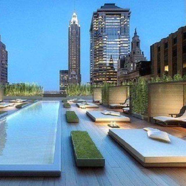 121 best penthouse design inspirations images on pinterest - Hotel new york swimming pool roof ...