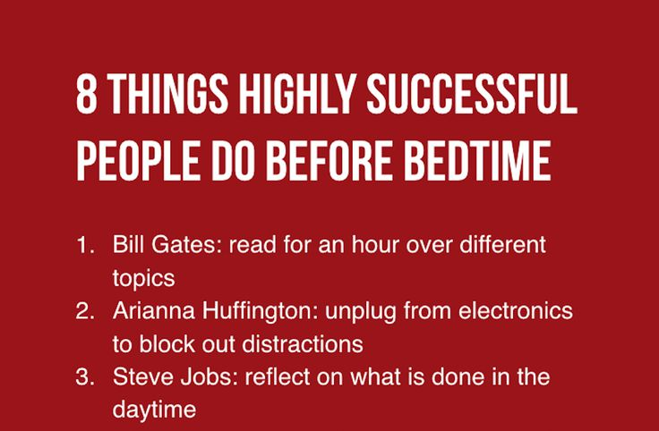 Successful People's Battlefields Are Not Confined To Their Offices, But Also Their Bedrooms