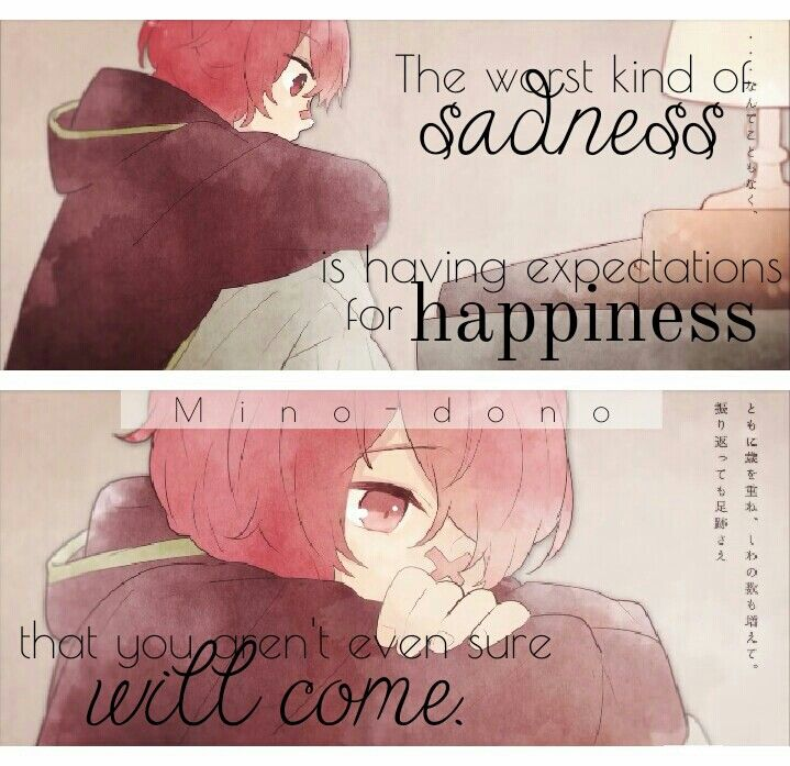 Quotes About Sadness And Happiness: 1000+ Sad Anime Quotes On Pinterest