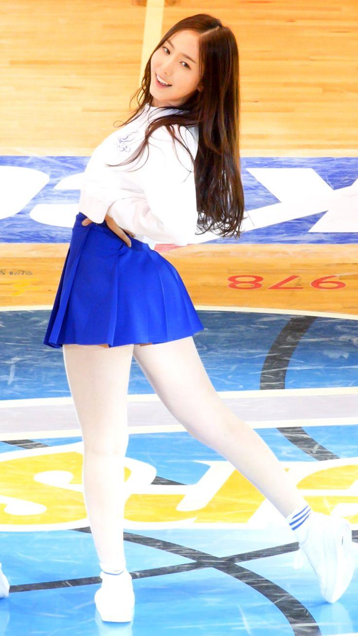 [150218] 여자친구 GFRIEND (신비 SinB) - 유리구슬 Glass Bead (프로농구 축하공연) 직캠/Fancam ...
