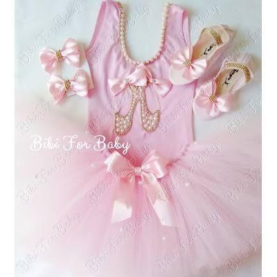 Fantasia Infantil Bailarina Luxo Rosa Menina Collant Tutu - R$ 225,99 em Mercado Livre