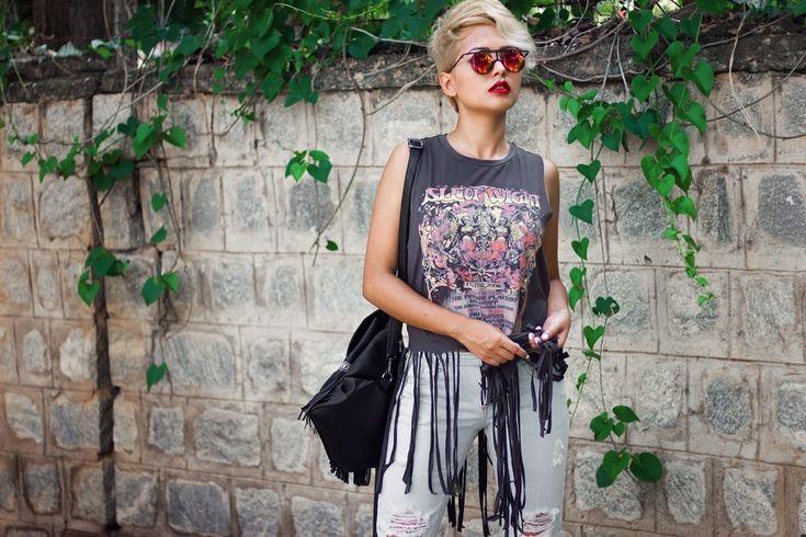 Verschiedene Möglichkeiten, um einen Grunge-Stil Ihr Haar zu tragen   Mode