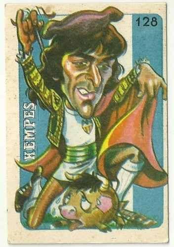 Kempes - Valencia #128  1979