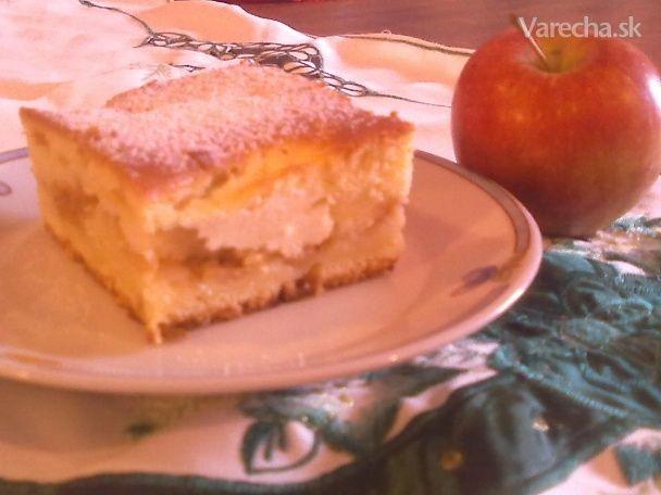 Veľmi jednoduchý liaty jablkový alebo akýkoľvek koláčik (fotorecept)