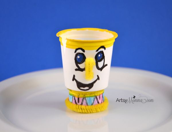 K-cup Craft: Chip (tea cup) from Disney's Beauty and the Beast