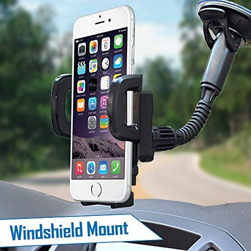 iphone car mount 2 in 1 cell phone car mount holder free usb charger 1627
