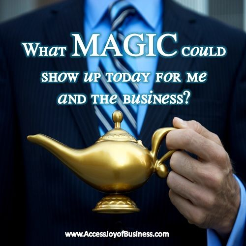 What MAGIC could show up today for me and the business? - Simone Milasas, Joy of Business