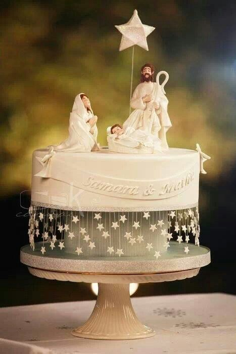 1000 Images About Christmas Winter Cakes On Pinterest