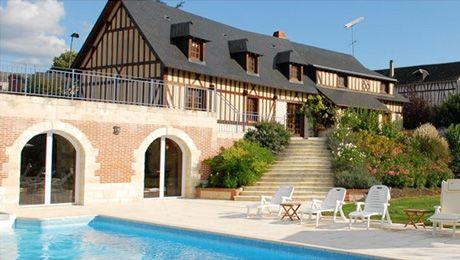 DOMAINE LE CLOS DES FONTAINES / Au cœur de la Normandie, découvrez un espace entièrement dédié au bien-être, le Spa du Domaine Le Clos des Fontaines.