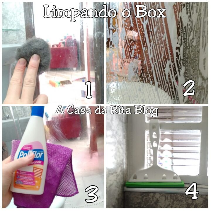 Como limpar box de vidro