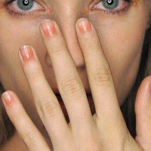 Gina Edwards | New York Fashion Week S/S 15 |  Monique Lhuillier #nails #nailart #manicure