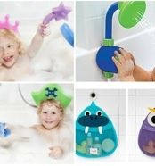 Kids shower head bath toy