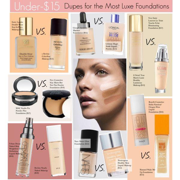 Makeup Dupes Foundation