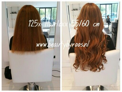 125 Hairloxx hairextensions 55/60 cm Kleuren: Valencia en Cannes  #extensions #hairloxx  www.beautybyroos.nl