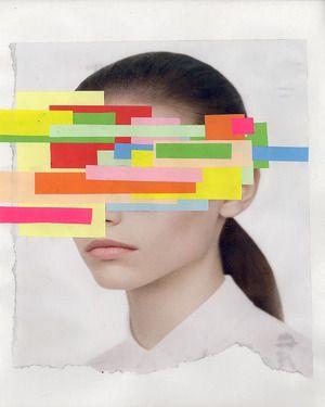 "Saatchi Online Artist Claudio Parentela; Assemblage / Collage, ""PAINTING1056"" #art"